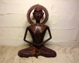 indian antiques rare traditional handmade bronze budha