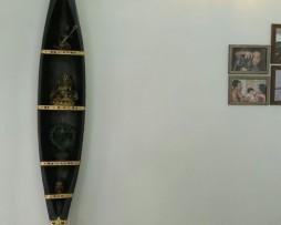 decorative kerala boat show case