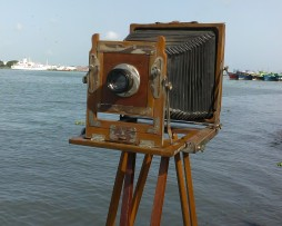 vintage wooden field camera for sale in india
