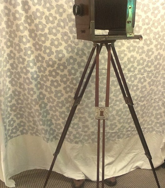 Vintage Antique Field Camera Wooden Body For Sale In India 1