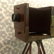 Vintage Antique Field Camera Wooden Body For Sale In India 2