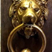 Beautiful Antique Style Bronze Door Knocker For Sale In Cochin Kerala India