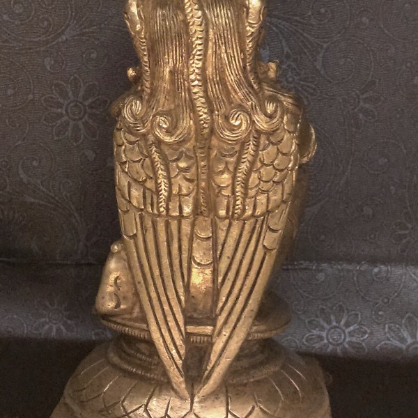 Indian Antiques Bronze rare garuda bronze idol statue for sale