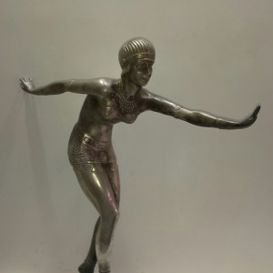 Antique Bronze Sports Ladies Figure For Sale In India