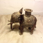 Buy Antique Bronze Tribal Elephant Figure From India online 4