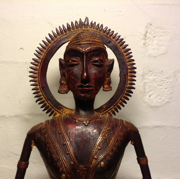 Handmade Antique Bronze Buddha Statue From India