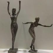 Antique Bronze Sports Ladies Figure For Sale In India