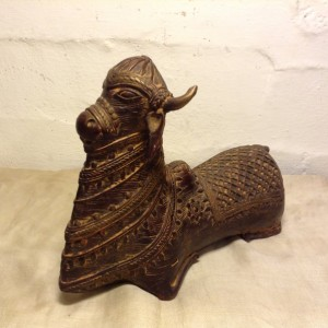 Antique bronze sitting Bull Nandi For Sale In India