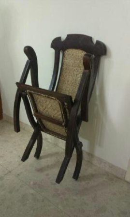 Antique Furniture Rose Wood Folding Chair For Sale In
