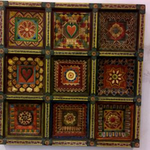 Decorated-wall-hangings